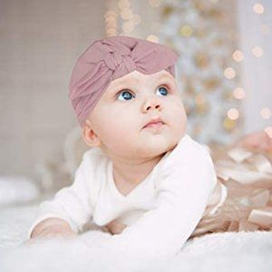 Lila & Jack Pink Knotted Turban Hat